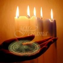Как да използвате различните цветове свещи за сбъдване вашите желания по Коледа и Нова година
