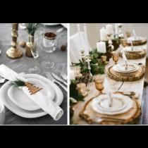 27 идеи как да украсим празничната маса в стил ИКЕА: елегантно и невероятно красиво