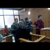 Първи кадри с убиеца на рейнджърката Десислава, който влезе в съда с ехидна усмивка