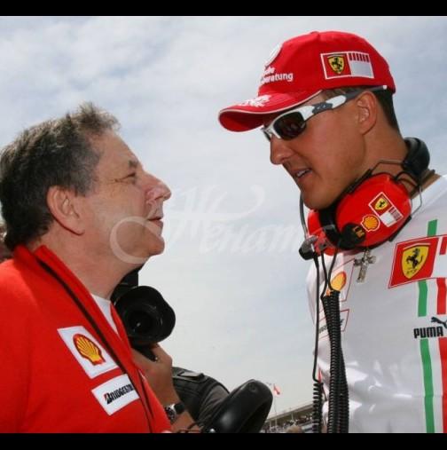 Добри новини за Шумахер-Ето какво е правил с Жан Тод преди месец!
