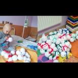 4-годишното момченце, което само шие играчки, за да плати лечението си: историята, която трогна до сълзи Интернет