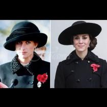 Тя го направи не веднъж, а цели 19 пъти! Ето кога Кейт буквално влезе в дрехите на Даяна (снимки):