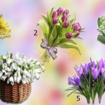 Пролетни букети-Изберете един и разберете какво ви очаква през пролетта