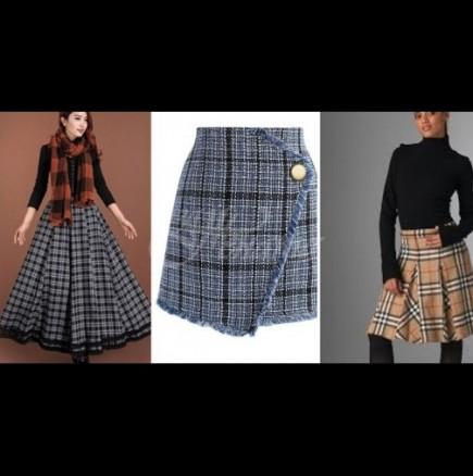 Какви поли трябва да носите през зимата, за да ви бъде топло, да изглеждате стилно и да сте в крак с модата (снимки)
