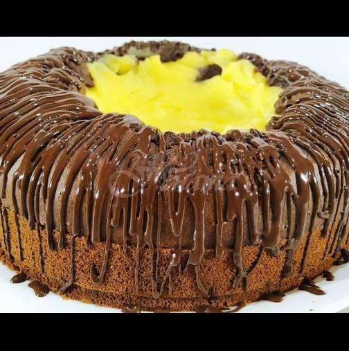 Как се прави невероятният кекс Вулкан: пече се заедно с крема, а с първата хапка изригваш от удоволствие