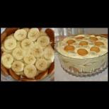 Бърза и лесна торта с банани