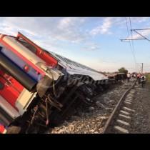 Тежък влаков инцидент в Пловдив - има ли пострадали и ексклузивни снимки от мястото: