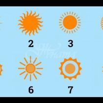 Изберете си слънце и вижте бъдещето си!