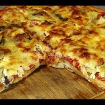 Рецепта за пица, която удари всички италиански в земята-Бърза селска пица