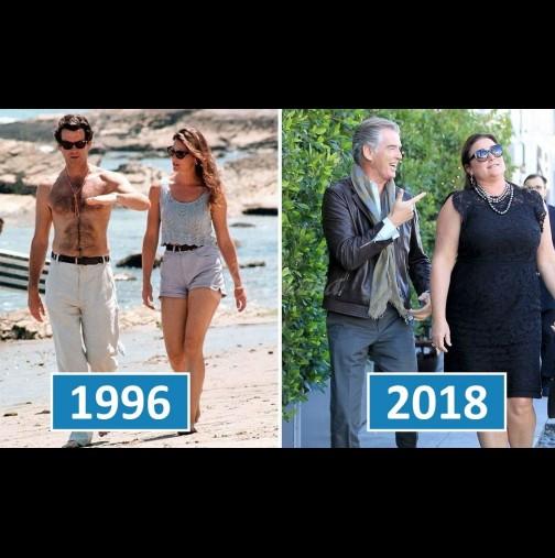 Джеймс Бонд все още е лудо влюбен жена си след 25 години брак - вижте прекрасното му семейство: