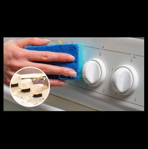 Тази опитна домакиня знае как да почисти печката от мазнотии само с няколко прости трика, е как да не ви ги споделим
