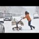 Студ сковава страната: Жълт код за всички области днес, бурен снеговалеж и виелици