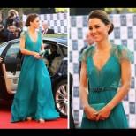 Най-красивите вечерни рокли на Кейт Мидълтън - стил и елегантност