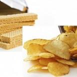 Масово се срещат канцерогени във вафли, чипсове, бисквити-Таблица с опасно превишените нива опасни вещества