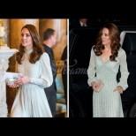 Ето как Кейт се намъкна под кожата на Кралицата с помощта само на една рокля (Снимки):