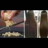 Парченце от 3 см кара косата да расте двойно за месец - ето какво още се слага в маската: