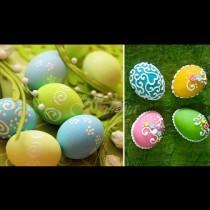 Ажурна красота и нежност за броени минути: как се боядисват яйца с пудра захар