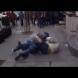 Камера засне жесток бой между двама мъже в центъра на София - поводът за боя смая всички: