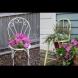 Креативни и лесни идеи за градината от отпадъчни материали
