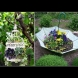 Късче от рая: 19 креативни идеи за евтин декор в градината с подръчни материали (Снимки)
