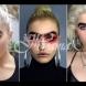Естествена блондинка с гъсти черни вежди непрекъснато получава смъртни заплахи заради необичайната си външност (Снимки):