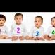 Трите бебета са момчета, а едно е момиче-Кое е то-Много хора не могат да го разпознаят!