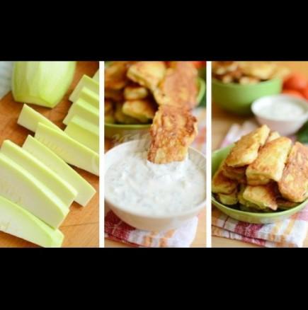 Рецепта-трепач за лятото: пържени тиквички в бира - хем хрупкави, хем пухкави и сочни