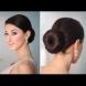 Как да си направим елегантен нисък кок (Видео)