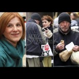 Жена нахрани с пица уличен бездомник. По-късно едва не припадна, като разбра кой е. Ще го познаете ли? (Снимки):