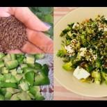 Ленени семена, сусам и авокадо за скоростно отслабване