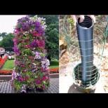Вертикалните градини са последният писък сред цветарите: изглеждат умопомрачително и се правят супер лесно