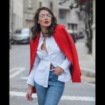 20+ идеи как да носим бялата риза - строго, елегантно или секси: