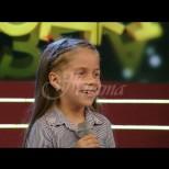 8-годишна чаровница  плени Слави Трифонов-Това ли е новият талант на Бълария