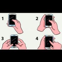 Кажи ми как държиш мобилния и ще ти кажа коя е най-характерната ти черта - 99% вярно е: