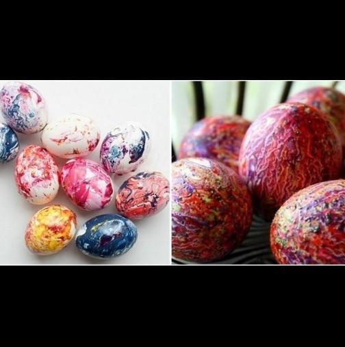 Цветовете стават по-ярки, отколкото може да си представите: ето как се правят невероятните яйца-дъга (Снимки):