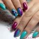 19 нежни и стилни маникюри за къси нокти (снимки)