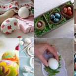 Последни предложения за боядисване на яйца-Вчера ги направих така-Станаха чудо!