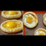 Взимам едно бутер тесто, яйца и кашкавал и перфектната закуска е готова за нула време