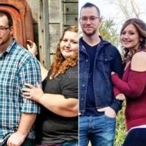 Двойка успя да свали общо 350 кг за кратък период от време