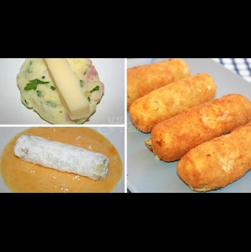 Обичате картофи? Значи това е вашата вечеря, лично изпитана рецепта и любима на нашия шеф
