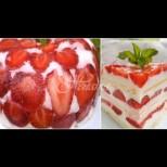 300 гр. ягоди, 100 гр.бисквити и само 30 минути - формулата на успеха на перфектната лятна торта с ягоди: