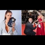Наистина любов: Тя е на 20, той - на 63! Милионер поиска ръката на любимата си на червения килим в Кан (Снимки):