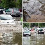 Порой и градушка потопиха Пловдив