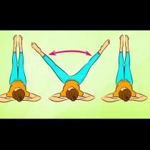 Най- доброто упражнение за стегнати и тънки крака и плосък корем у дома