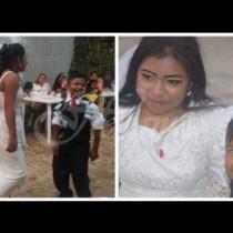 Всички се втрещиха от тези сватбени снимки