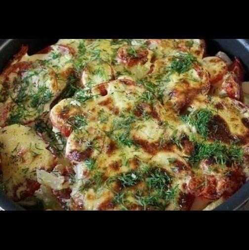 Млади тиквички със сметана и домати-Божествено вкусна комбинация-Само така ги правя-Трудно е да се опише колко са вкусни