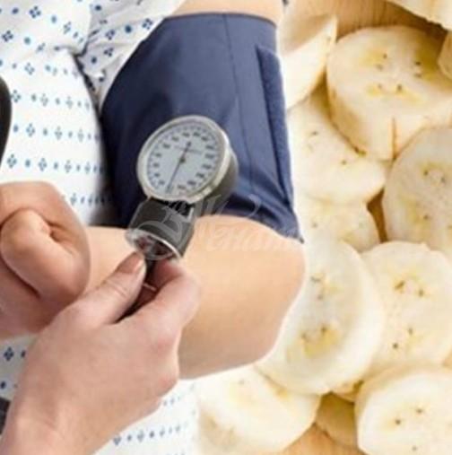 Поддържане на норлмално кръвно с банани