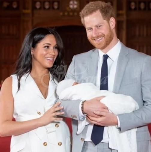 Актът за раждане на принц Арчи разкри пикантна подробност - професиите на Меган и Хари (Снимка):