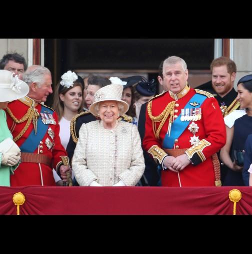 Нелеп инцидент за малко да провали парада за рождения ден на Елизабет Втора: