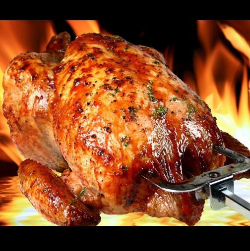 5-те тайни за идеално изпечено цяло пиле - с тях винаги ще имате хрупкава коричка и сочна вътрешност: